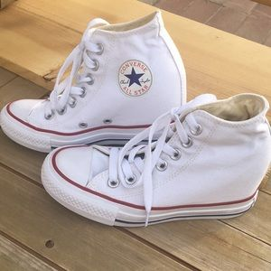 4c8f2fcf705574 Converse Women Shoes Wedges on Poshmark